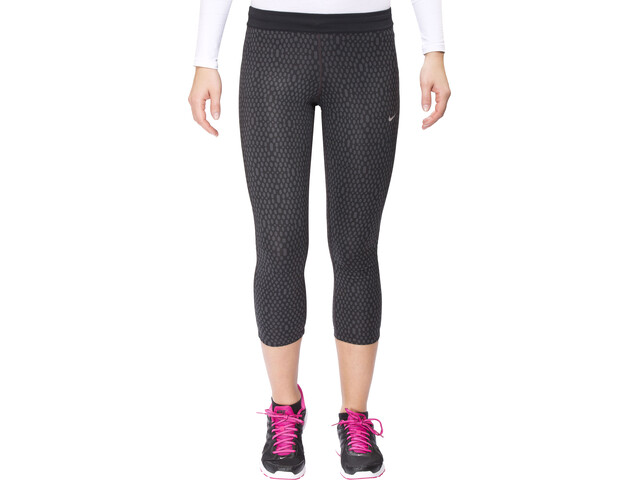 Nike Mirror Mesh Relay Naiset Juoksushortsit , musta